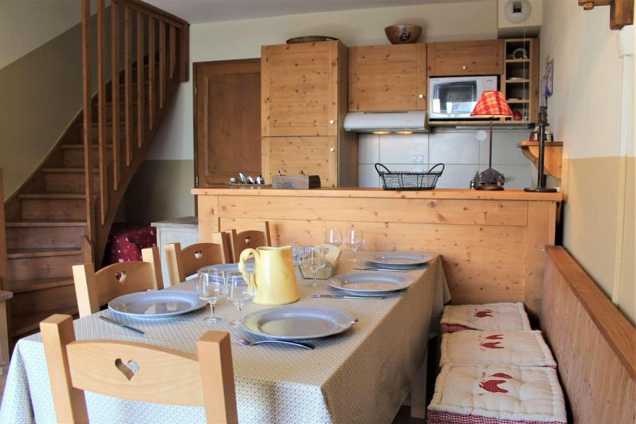 Wakacje w górach Apartament duplex 3 pokojowy 6 osób (051) - Résidence le Hameau des Rennes - Vars - Zima na zewnątrz