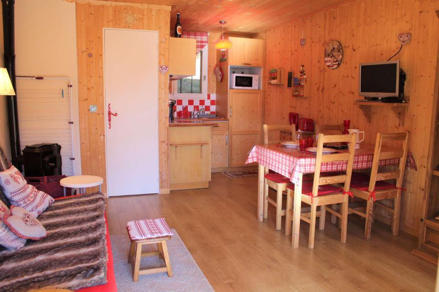 Wakacje w górach Studio 2 osoby (002) - Résidence le Sandrina - Vars - Zima na zewnątrz