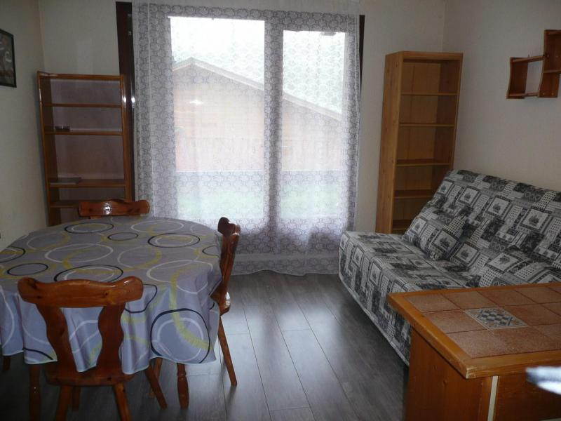 Rent in ski resort Studio sleeping corner 4 people (B102) - Résidence les Alpages - Vars - Living room