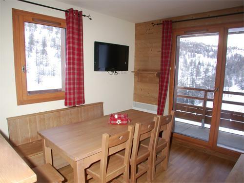 Alquiler al esquí Apartamento 2-3 piezas duplex para 6 personas (002) - Résidence les Chalets des Rennes - Vars - Ventana