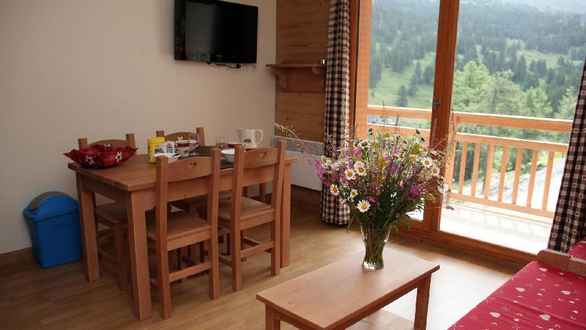 Location au ski Appartement 2 pièces 4 personnes - Résidence les Chalets des Rennes - Vars - Appartement