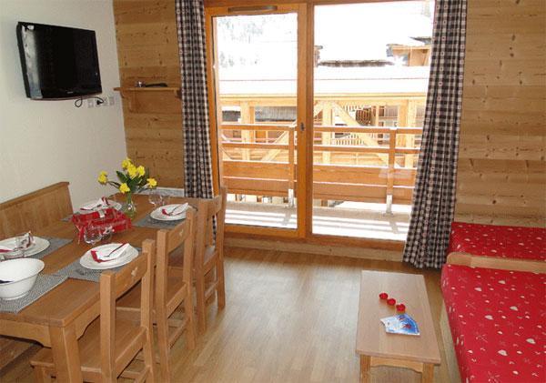 Alquiler al esquí Résidence les Chalets des Rennes - Vars - Comedor