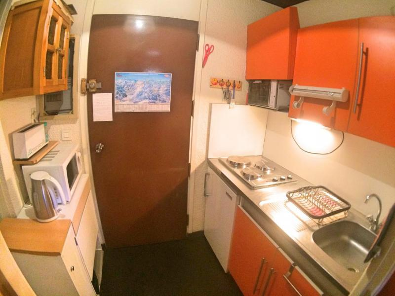 Аренда на лыжном курорте Квартира студия кабина для 4 чел. (919) - Résidence les Fibières - Vars