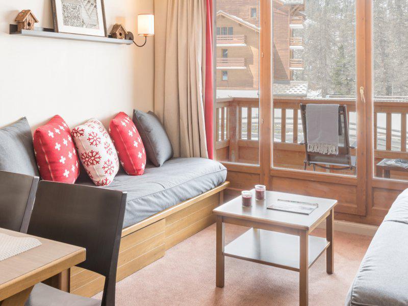 Location au ski Appartement 2 pièces cabine 7 personnes (27) - Résidence Pierre & Vacances l'Albane - Vars