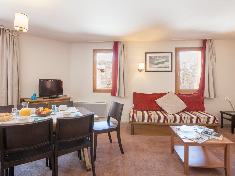 Location au ski Appartement duplex 4 pièces 7-9 personnes - Résidence Pierre & Vacances l'Albane - Vars