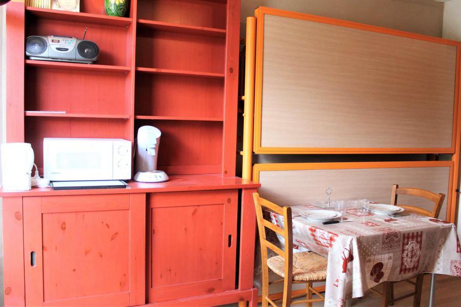 Location au ski Studio 2 personnes (201) - Résidence Ski Soleil - Vars - Kitchenette
