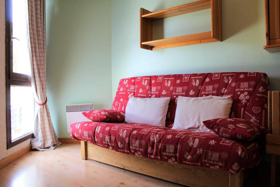 Location au ski Studio 2 personnes (401) - Résidence Ski Soleil - Vars - Séjour