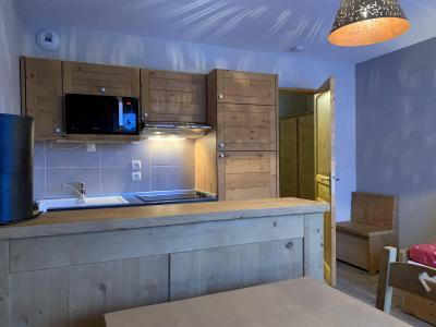 Location au ski Appartement 2 pièces 4 personnes (60) - Chalets des Rennes - Vars - Kitchenette