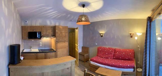 Location au ski Appartement 2 pièces 4 personnes (60) - Chalets des Rennes - Vars - Séjour