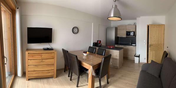 Location au ski Appartement 3 pièces 6 personnes (55) - Chalets des Rennes - Vars - Coin repas