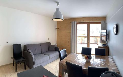 Location au ski Appartement 3 pièces 6 personnes (55) - Chalets des Rennes - Vars - Séjour