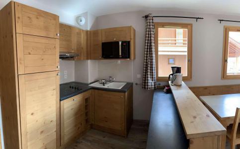 Location au ski Appartement 5 pièces 8 personnes (210) - Chalets des Rennes - Vars - Kitchenette
