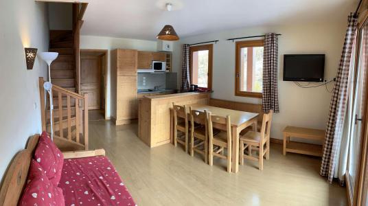 Location au ski Appartement duplex 3 pièces 7 personnes (77) - Chalets des Rennes - Vars - Séjour