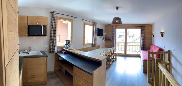 Location au ski Appartement duplex 3 pièces 8 personnes (126) - Chalets des Rennes - Vars - Kitchenette