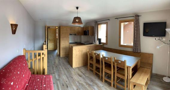 Location au ski Appartement duplex 3 pièces 8 personnes (126) - Chalets des Rennes - Vars - Séjour