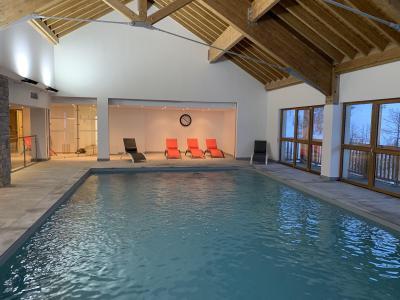 Location au ski Appartement duplex 3 pièces 7 personnes (77) - Chalets des Rennes - Vars - Piscine
