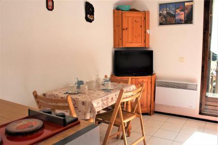 Rent in ski resort 2 room apartment 4 people (0208) - La Résidence Les Colchiques - Vars - Living room