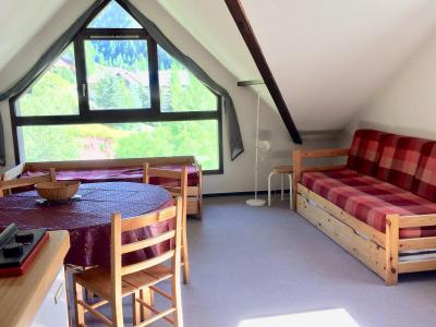 Rent in ski resort Studio sleeping corner 4 people (0502) - La Résidence Les Colchiques - Vars - Living room