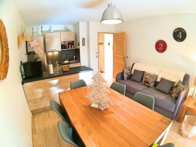 Rent in ski resort 2 room apartment cabin 6 people (HDRM18) - Le Hameau des Rennes - Vars - Apartment