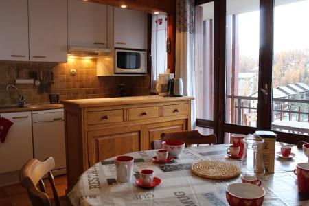 Rent in ski resort Studio sleeping corner 6 people (088) - Résidence Centre Vars - Vars