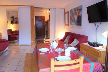 Rent in ski resort Studio sleeping corner 4 people (004) - Résidence Centre Vars - Vars - Living room