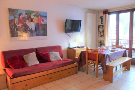 Rent in ski resort Studio sleeping corner 4 people (004) - Résidence Centre Vars - Vars - Settee