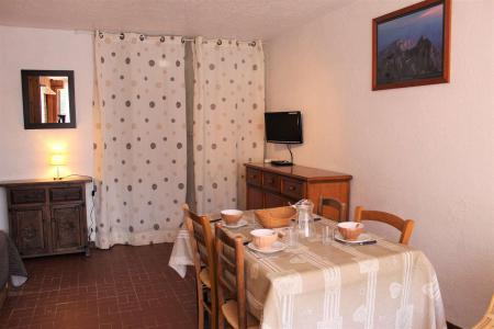 Rent in ski resort Studio sleeping corner 4 people (011) - Résidence Centre Vars - Vars - Living room