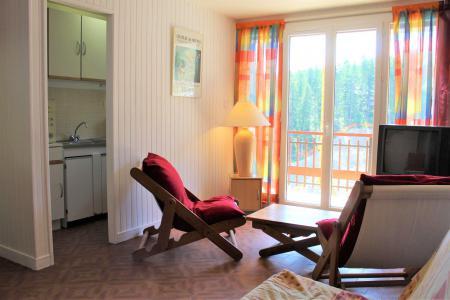 Rent in ski resort Studio sleeping corner 4 people (040) - Résidence Centre Vars - Vars - Bunk beds