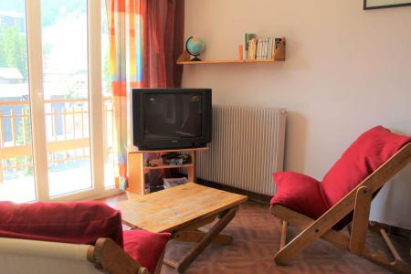 Rent in ski resort Studio sleeping corner 4 people (040) - Résidence Centre Vars - Vars - Sleeping area