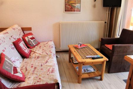 Rent in ski resort Studio sleeping corner 4 people (045) - Résidence Centre Vars - Vars - Sleeping area