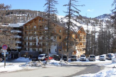 Location au ski Résidence Ecrin des Neiges - Vars - Extérieur hiver