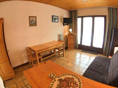 Rent in ski resort Studio sleeping corner 4 people (07) - Résidence Hostellerie - Vars - Table