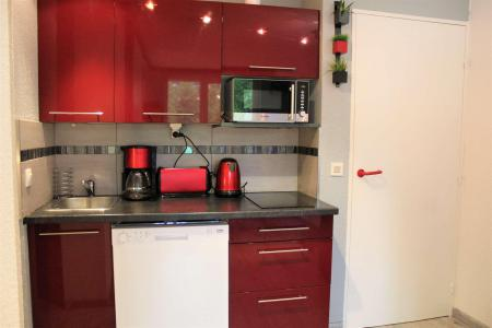 Rent in ski resort Studio cabin 4 people (888) - Résidence l'Eyssina - Vars - Open-plan kitchen