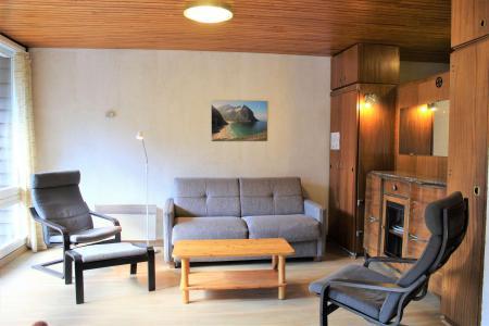 Rent in ski resort Studio cabin 6 people (402) - Résidence l'Olan - Vars - Living room