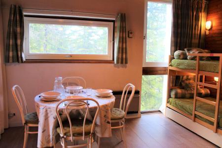 Rent in ski resort Studio sleeping corner 4 people (401) - Résidence l'Olan - Vars - Apartment