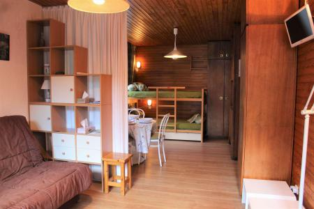 Rent in ski resort Studio sleeping corner 4 people (401) - Résidence l'Olan - Vars - Table