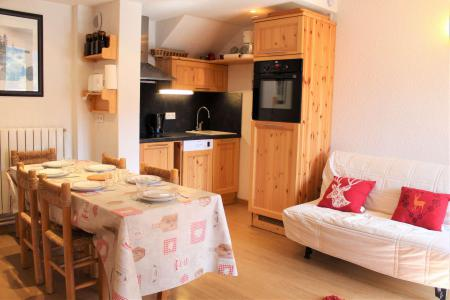 Rent in ski resort 2 room duplex apartment 5 people (0018) - Résidence le Hameau - Vars - Living room