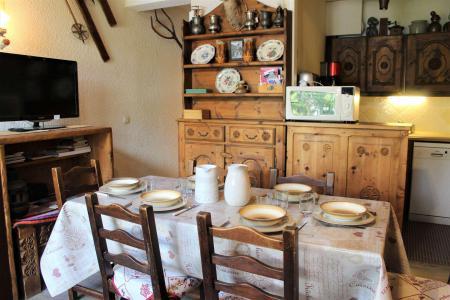 Rent in ski resort 2 room duplex apartment 6 people (025) - Résidence le Hameau - Vars - Kitchen