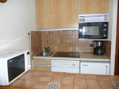 Rent in ski resort Studio sleeping corner 4 people (B102) - Résidence les Alpages - Vars - Kitchenette