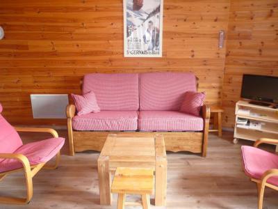 Rent in ski resort 2 room apartment 6 people (808) - Résidence les Fibières - Vars - Living room