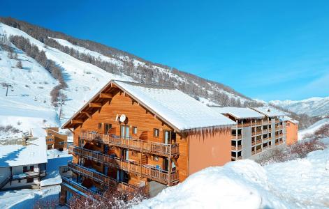 Location au ski Résidence Pra Sainte Marie - Vars - Extérieur hiver