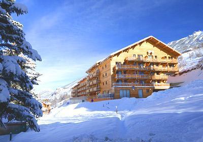 Location au ski Residence Pra Sainte Marie - Vars - Extérieur hiver