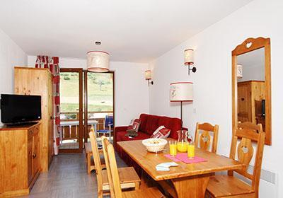 Location au ski Residence Pra Sainte Marie - Vars - Table