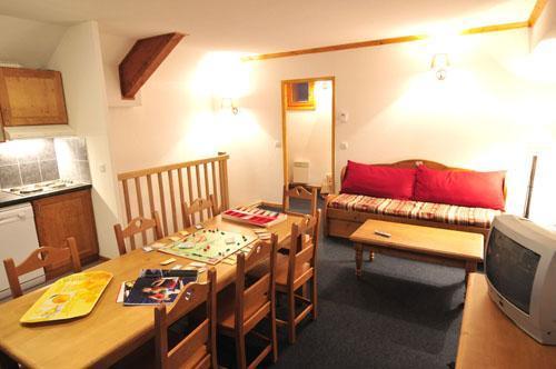 Location au ski Appartement 4 pièces 8 personnes - Residence Les Valmonts De Vaujany - Vaujany - Séjour