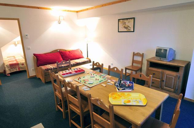 Location au ski Residence Les Valmonts De Vaujany - Vaujany - Table