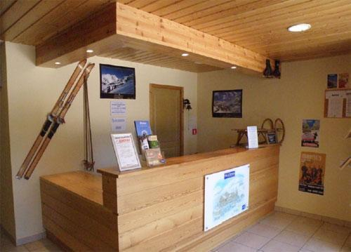 Location au ski Residence Les Valmonts De Vaujany - Vaujany - Réception