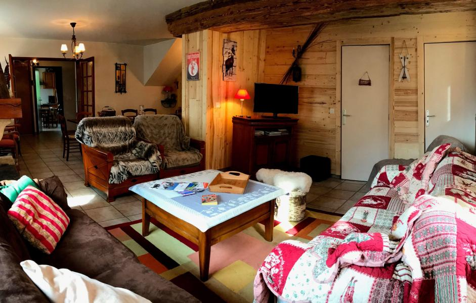 Location au ski Chalet Louise - Vaujany - Séjour