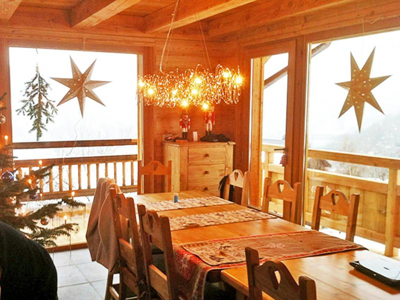 Аренда на лыжном курорте Chalet Ysengrin - Vaujany - Столова&