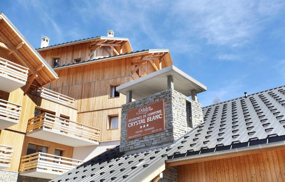 Аренда на лыжном курорте Résidence le Crystal Blanc - Vaujany - зимой под открытым небом