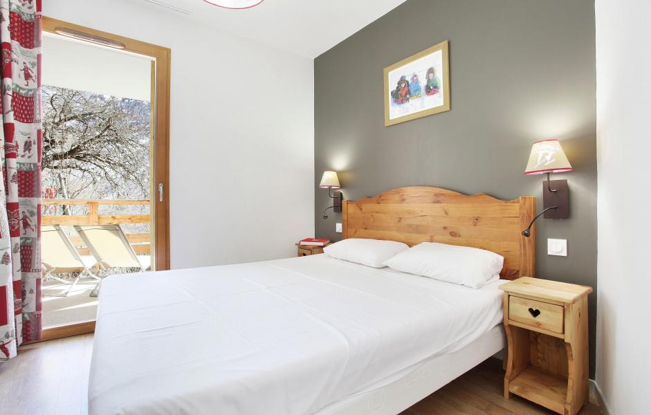 Аренда на лыжном курорте Résidence le Crystal Blanc - Vaujany - Двухспальная кровать